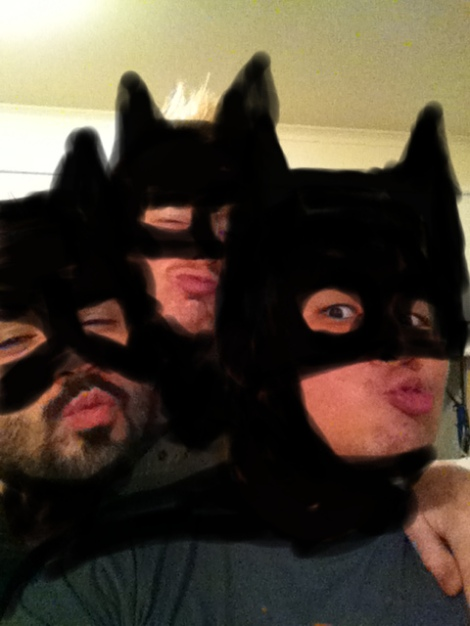 Batman Selfie - Action Points Podcast Crew