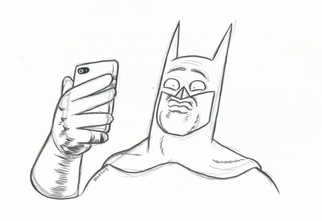 Batman Selfie - Ben Hutchings