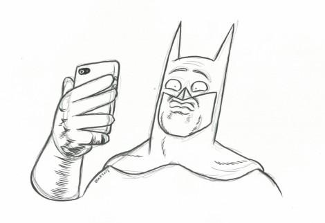 Batman Selfie - Ben Hutchings