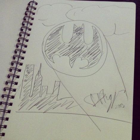 Batman Selfie - Daniel