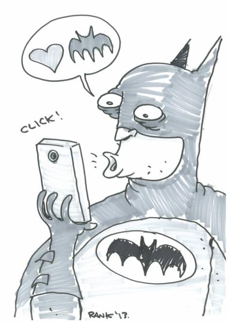 Batman Selfie - Dean Rankine