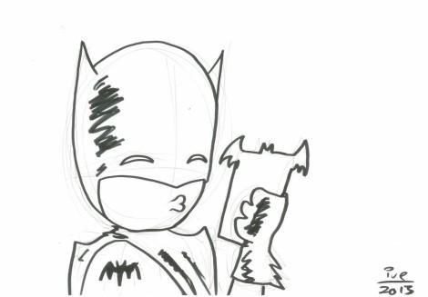 Batman Selfie - Ive Sorocuk