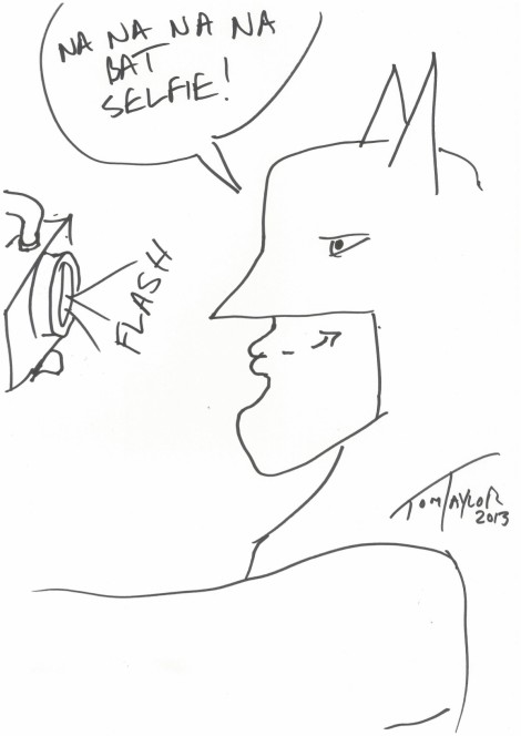 Batman Selfie - Tom Taylor