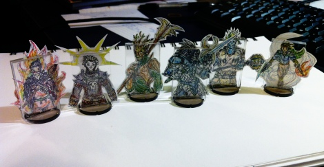 DnD Papercraft Characters 02