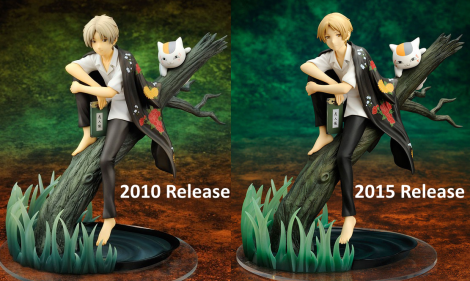 Spot the differences! 2010 vs 2015 release
