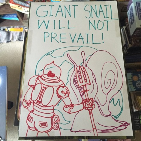 Giant Snail Cover
