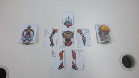 Robot VS Giant Snail