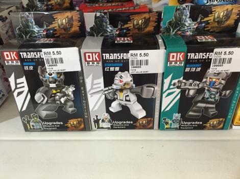 Fake Transformer Minifigs