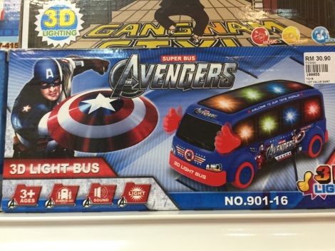 Super Bus Avengers