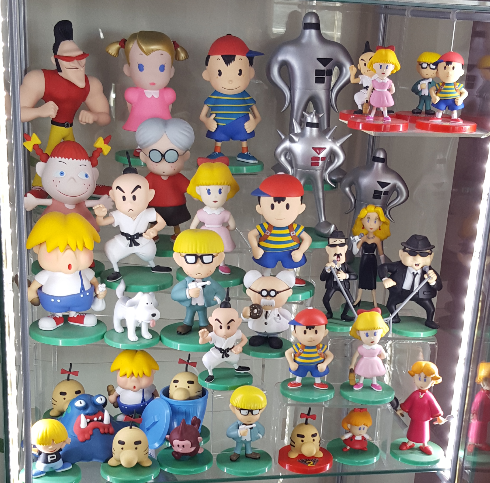 GEEKY SHIT: Mother (EarthBound) series figures by ...