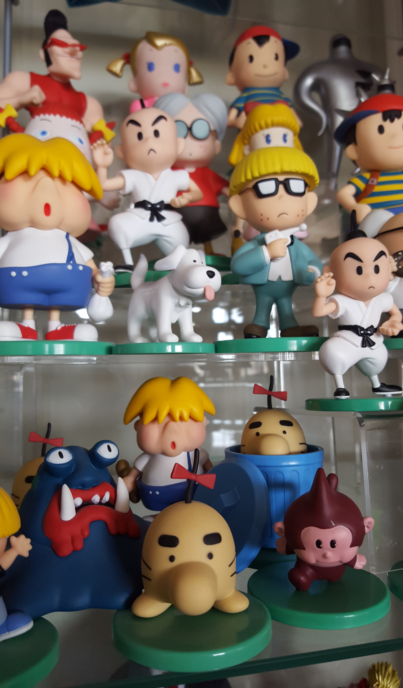 Geeky Shit Mother Earthbound Series Figures By